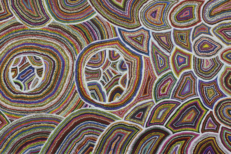 Samuel Miller Aboriginal painting Ninuku Arts