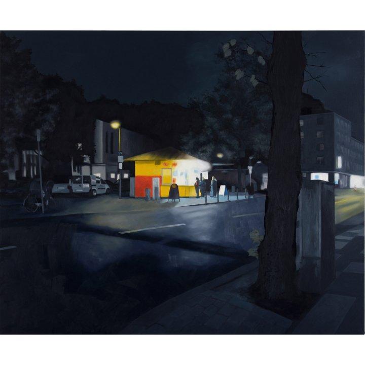 Christiane Gerda Schmidt, Imbiss, painting