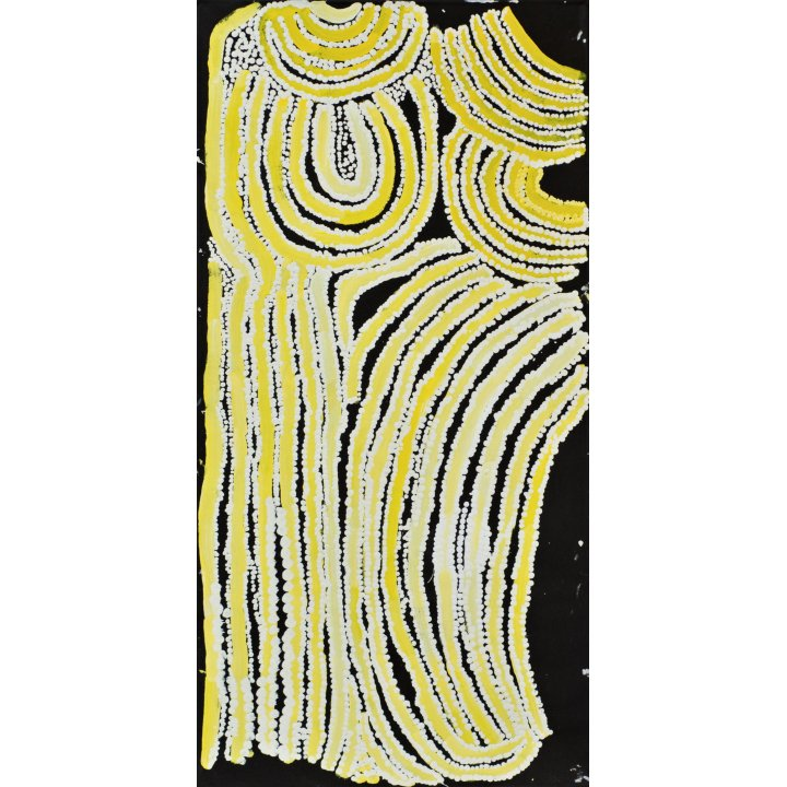 Esther Giles, Kuruyurltu - Esther, Aboriginal painting, Tjarlirli Art