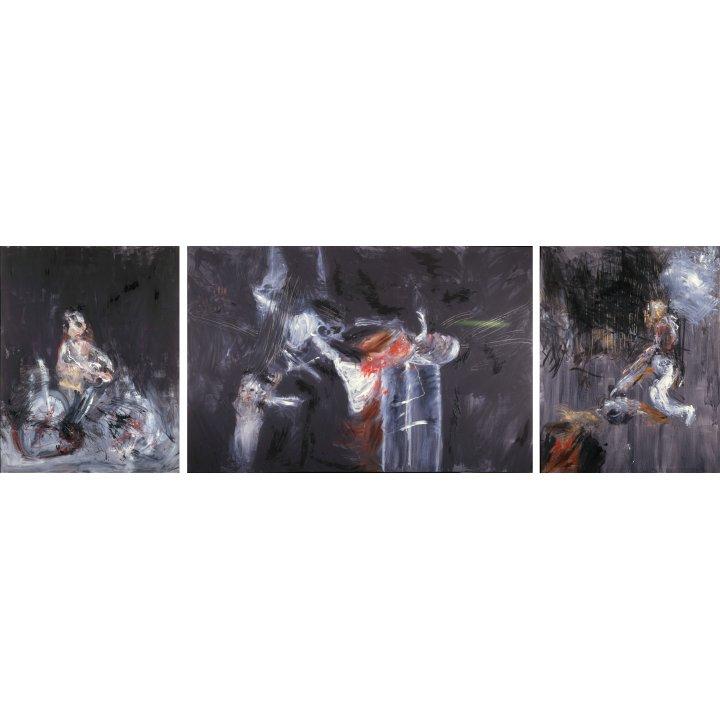 Michael Hafftka, Triptych, 1984