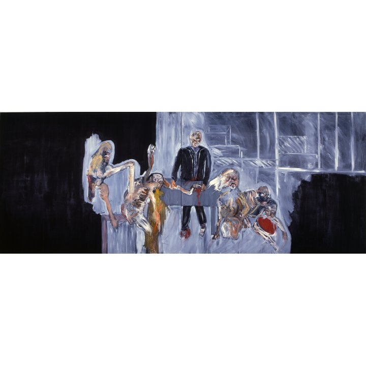 Michael Hafftka, Out of Hand, 1985, painting about the Holocaust