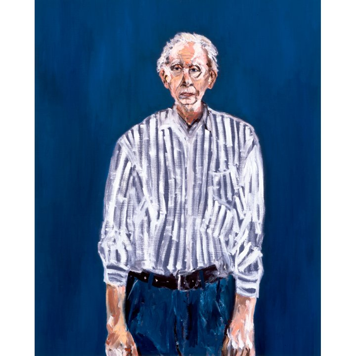 Michael Hafftka, Simon Hafftka, artist's father, 1993, Holocaust Memorial painting
