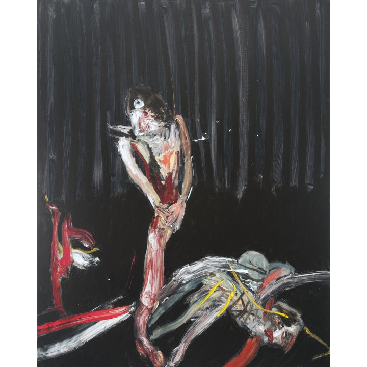 Michael Hafftka, Survivors, 2003 Holocaust Memorial painting