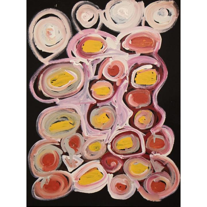 Bob Gibson, Aboriginal painting, Tjarlirli Art