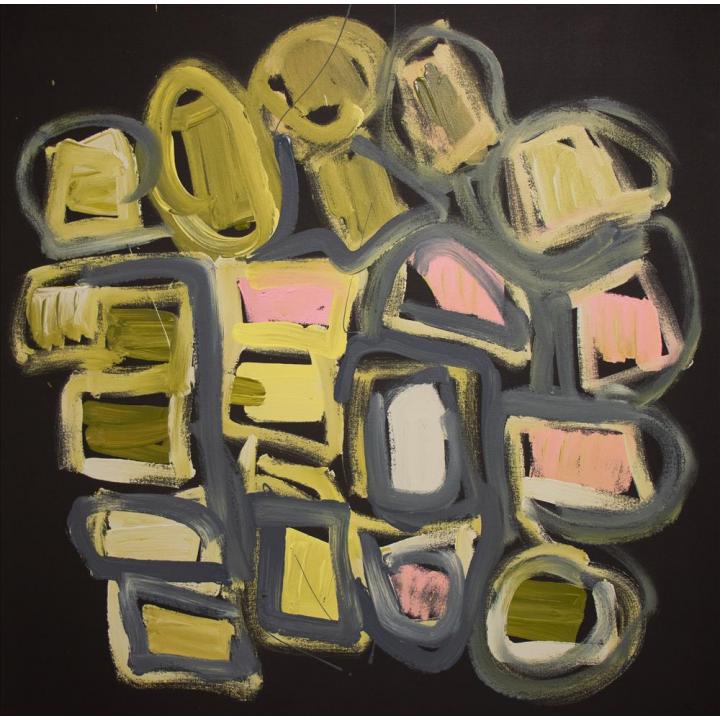 Bob Gibson, Patjantja, 2020, Aboriginal art, Tjarlirli Art