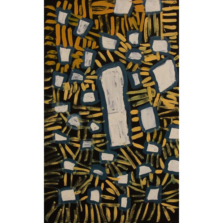Bob Gibson, Patjantja, abstract aboriginal painting