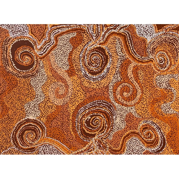 Carol Stevens, aboriginal dot painting