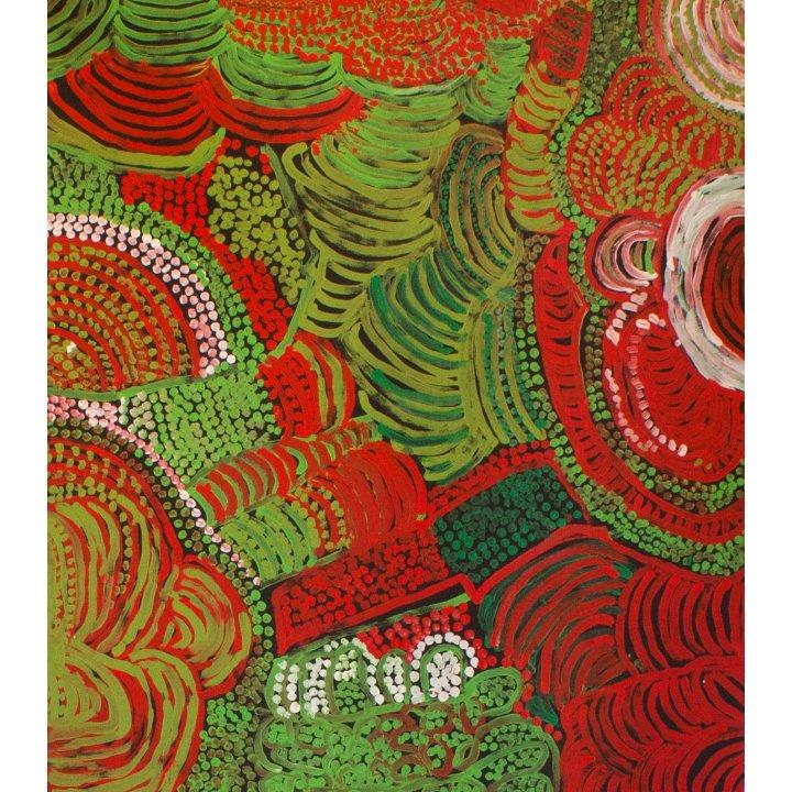 Eileen Yartitji Stevens, Piltati, aboriginal art exhibition trifolion echternach luxembourg