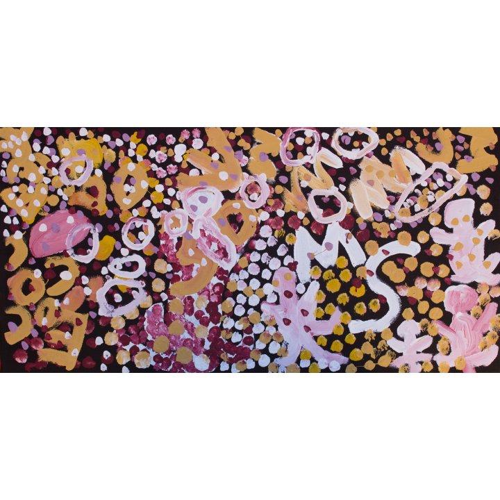 Elaine Lane, Elaine Papulankutja Dreaming, 2018 Aboriginal art