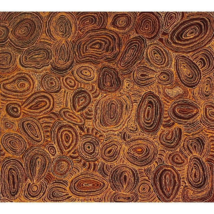 Kani George Angela, Piltati: Wanampi Tjukurpa, aboriginal painting
