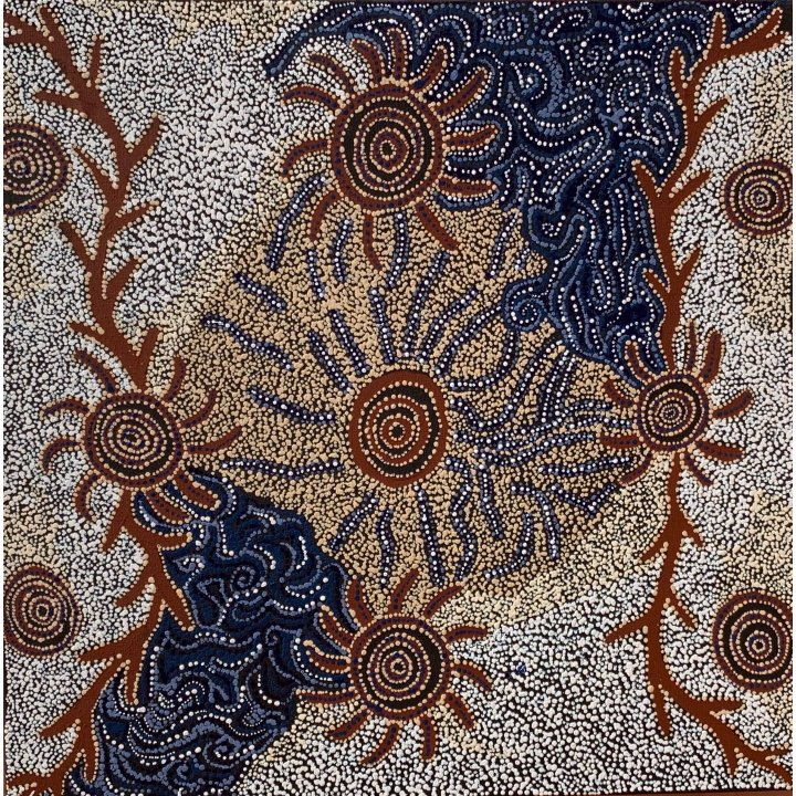 Meredith Treacle, aboriginal dot painting