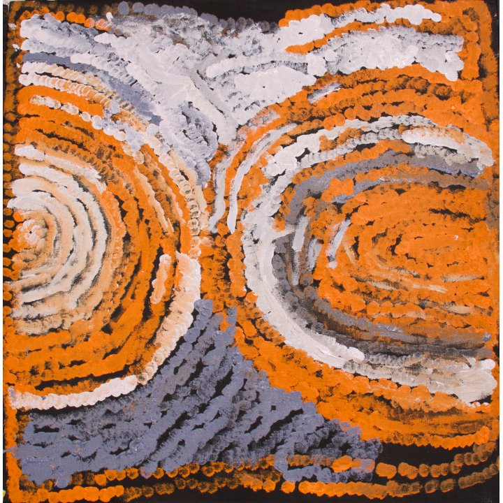 Myra Yurtiwa Cook (dec.), Lirrun, 2014 Aboriginal art