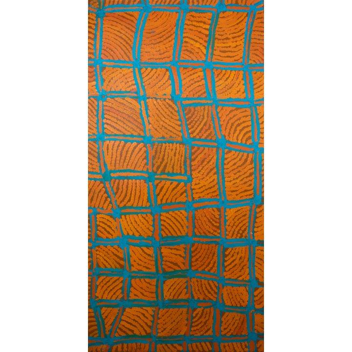 Nancy Nyanyarna Jackson, aboriginal painting, Warakurna Artists, Galerie Zadra