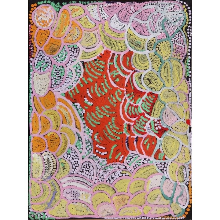 Rachel Yukultja Jennings, Mantamaru, 2014 Aboriginal art