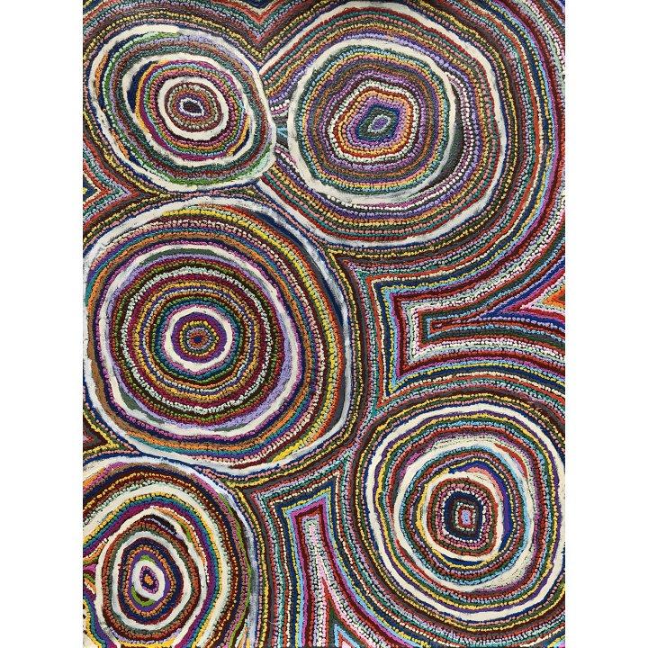 Samuel Miller Aboriginal painting Ninuku Arts Galerie Zadra