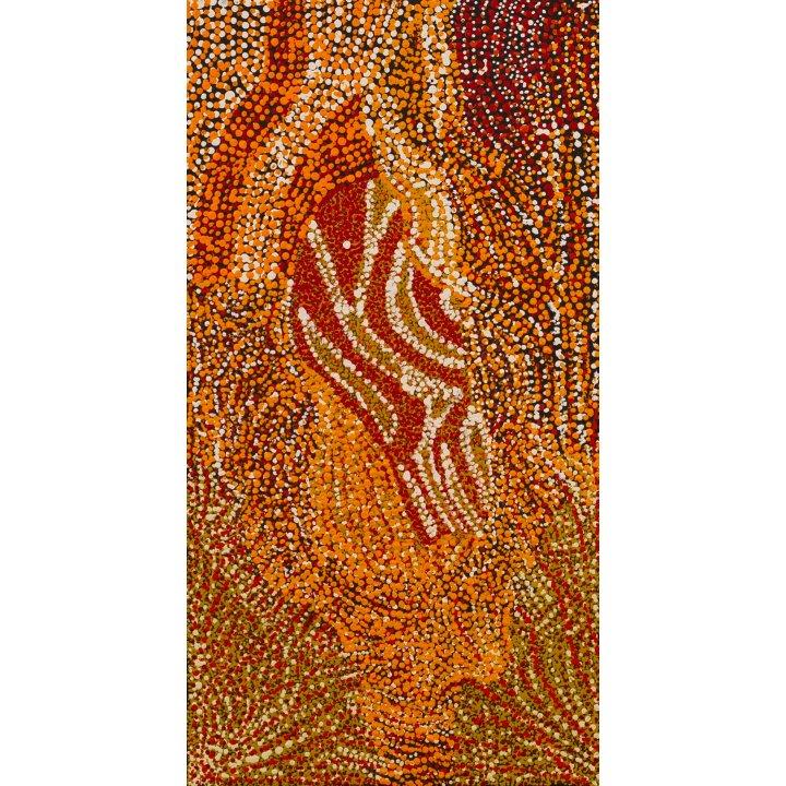 Anyupa Treacle, Ngapari - Sugar Leaf, Kaltjiti Arts Galerie Zadra