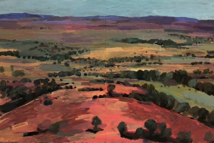 Michele Morcos landscape painting