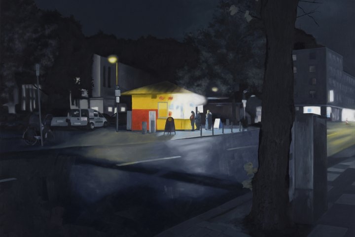 Christiane Gerda Schmidt Imbiss painting