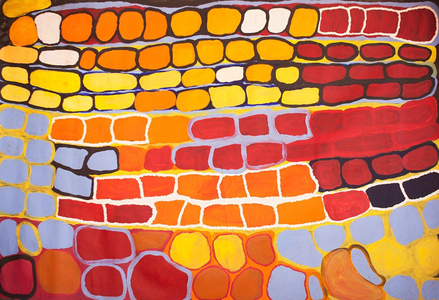 Anmanari Brown, Kungkarrangkalpa (Seven Sisters), Aboriginal art