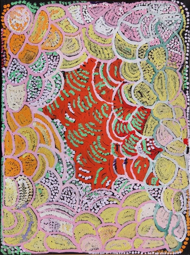 Rachel Yukultja Jennings, Mantamaru, 2014 Aboriginal art