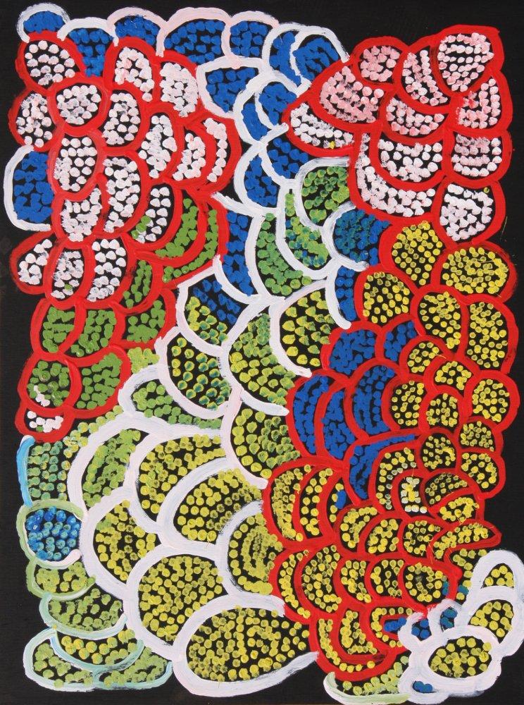 Rachel Yukultja Jennings, Lungkarta, 2013 Aboriginal art